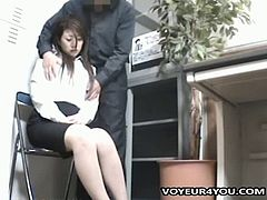 Shoplifting school girls were caught by the shop owner. As a exchage for not reporting to police, the owner asked for their lovely bodies. This movie was shot by several high quality cameras. All pretty girls are collected by this professional voyeur mania owner in this limited immoral sex video.