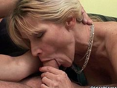 Mature moms love to seduce young horny guys and they are very successful on doing it. They would give all of their will and energy to receive throbbing dick inside their washed up cunts.