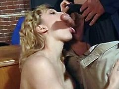 Lily luvs Blonde honey inhale the palatable pork dagger