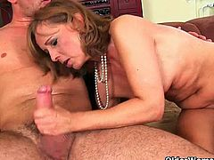 Older Woman Fun brings you a hell of a free porn video where you can see how this Mature sluts get banged by horny young studs while assuming very hot positions.