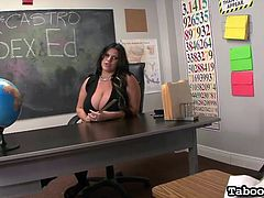the horny teacher gets dirty