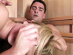 Toni Ribas buries his sturdy worm in hot Victoria Whites bum before blowjob