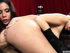 With giant tits fucks a lot with horny bang buddy Danny Mountain before she gets anal orgasm