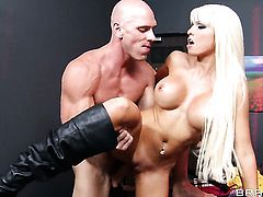 Johnny Sins wants to bang delicious Rikki Sixs moist vagina forever