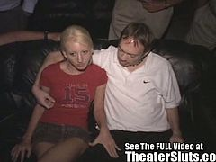 Carla is a petite blonde country girl with a wild streak. Dirty D is introducing her to the insane sexual underground and she loves it. Carla is completely turned on by anonymous sex.