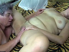 Group sex, chubby granny and fat mature are horny