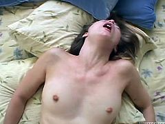 i grabbed her big natural tits @ 120 squirting pussies