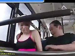 Japanese bus chikan sex