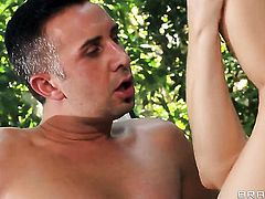 Darryl Hanah has some dirty anal fantasies to be fulfilled with horny dude Keiran Lee