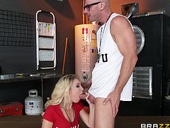 The male and female gym teacher are in the storage room, having wild sex. She is sucking on his massive dick and they want to demonstrate sex positions, and anatomy for the entire class. He fingers her in the classroom and she, even sucks him off in the car.