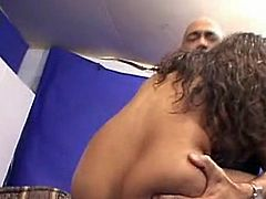 InDIan sex Star NiDa is the sucker for big dicks. at this point that boy showed her one and Started sucking it impulsively and soon she is onto tthis chab couch naked spreading that chabr legs and fondling close by that chabr breast wHile the chap shoved his great phallus Deep in her wet pussy slit.