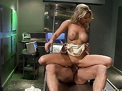 Danny Mountain bangs irresistibly hot Natalie Vegass mouth just like mad