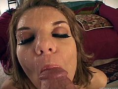 MILFs sucking cock POV style in a orally themed compilation