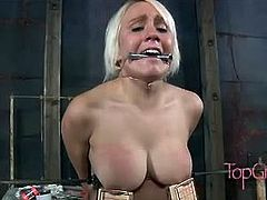 Sister Dee likes arts and crafts.  She takes a trip to Dom Depot for supplies and when she gets back Sophie is test her creations. Homemade dildos, gags and clamps are quick and easy to make. Making a slut like Sophie suffer enough to earn her orgasms is even easier. She will do anything Dee asks if it means she can cum again. The pleasure Dee can give is worth the pain she can inflict.