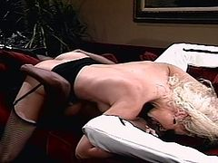 These two vintage beauty queens go pussy -to- pussy in hot lesbian action.