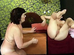 Brunette Nicole Sweet and Marsha spend time doing it