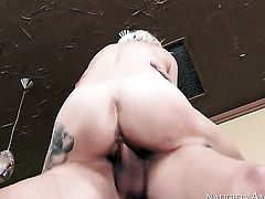 Exotic Kleio Valentien enjoys hardcore sex with her bang buddy Xander Corvus too much to stop