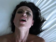 Manuel Ferrara has unthinkable anal sex with Franceska Jaimes before she takes it deep in her mouth