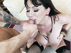 Dane Cross sticks his cock in irresistibly sexy Zoey Holloways snatch