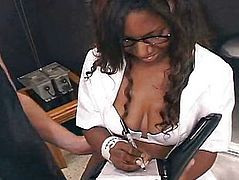 Psycho Doctor Black Chick ASSistant Slut