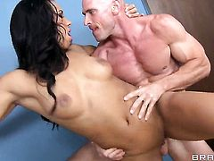 Johnny Sins plays hide the salamy with Sophia Fiore
