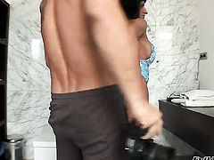 Nacho Vidal pulls out his love wand to fuck Latin