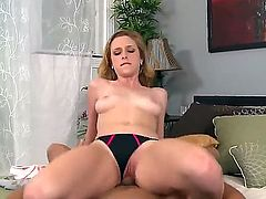 Pink pussy hottie Taylor Whyte fucking with her panties on