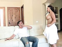 Toni Ribas gets pleasure from fucking in her muff pie