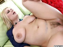 Danielle Delaunay with bubbly bottom loves the way dude fucks her love hole...