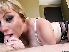 Jonni Darkko gets pleasure from fucking Adrianna Nicole in her hot mouth