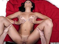 Ariana Marie is on the way to orgasm with dudes stiff love wand in her wet hole