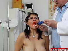 Remy gladly puts her lovely vagina and cock sucking skills to the test, knowing what a good gynecologist helps her
