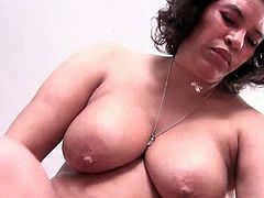 BBW matures Fannie and Maura are finding some time alone to have fun with their tongue, fingers and dildo to pleasure their privates to release their urges.