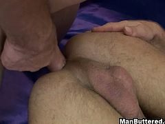 Hot Sex Of Horny Gay. Hot sex of horny gay addicted to anal fucking without condom. See wild gay fucks his gay lovers tight hole so deep stroking and fucking so sexy.