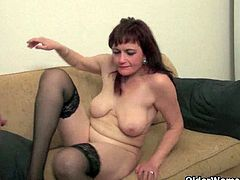 Simona and Kirsten is two of the hot mommas around and they will not miss their chance being alone with their young partners who are present in the house as they want to fuck when their family is not around.