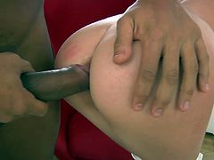 Ekaterina ass fucked and creampie
