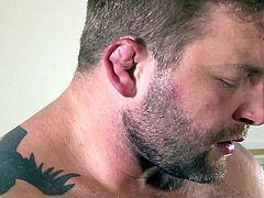Its always fun to lure a hot guy into a cock sucking and butt fucking action. The big hunk Colby here, is being seduced by Ricky. And when he gets the blowjob, Colby fails not to enjoy every bit of it. After all this oral foreplay, Ricky begs for some ass fucking. Let's watch him getting it!