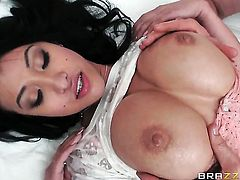 Jordan Ash wants to fuck bodacious Jayden Lees juicy mouth forever after she gets cornholded