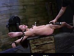 FetishNetwork Zoey Foxx returns for more extreme bondage sex