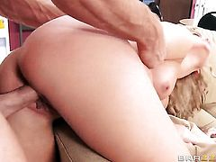 Alexis Monroe gets penetrated so hard by Johnny Sins that her twat will never be tight again