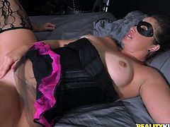 milf in a mask wants young cock