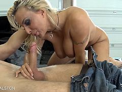 Eat Sleep Porn brings you a hell of a free porn video where you can see how the vicious blonde slut Holly Halston gets assbanged very hard and deep into a massive orgasm.