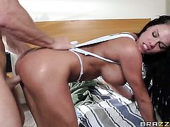 Johnny Sins shoves his love wand in delicious Peta Jensens mouth