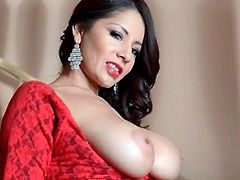Susana Alcala is a titty teasing glam babe