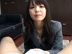 Point of view movie near Oriental Office girl mouth-fucking A yonker