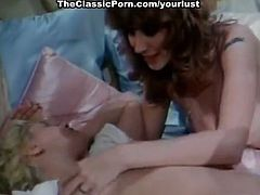 Vintage sex video featuring Bambi Woods, Robert Kerman, Ashley Welles