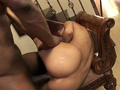Wicked cowgirl is into big black cocks she is handling one in this video