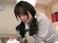 Masturbating From Enticing Korean Nurse.