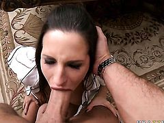 Kortney Kane with juicy tits is desperate for oral sex and Keiran Lee knows it
