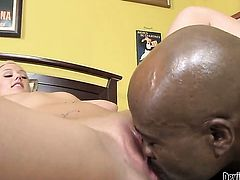 Molly Rae shows off her sexy body as she gets her mouth drilled by Wesley Pipes